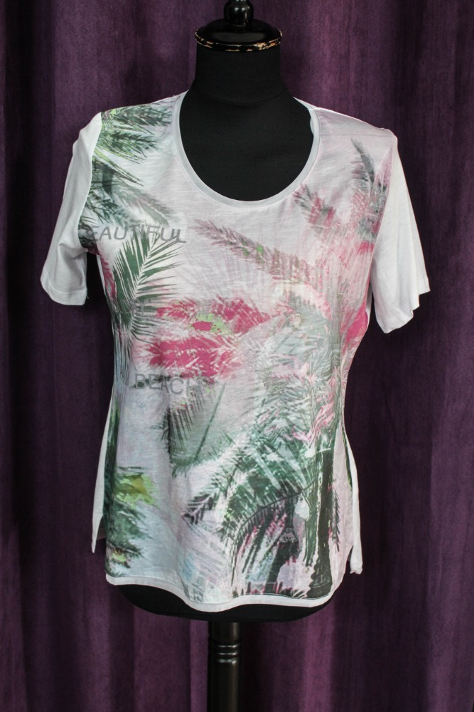 Kenny´S Dámské tričko Palm beach 42  8484d11853