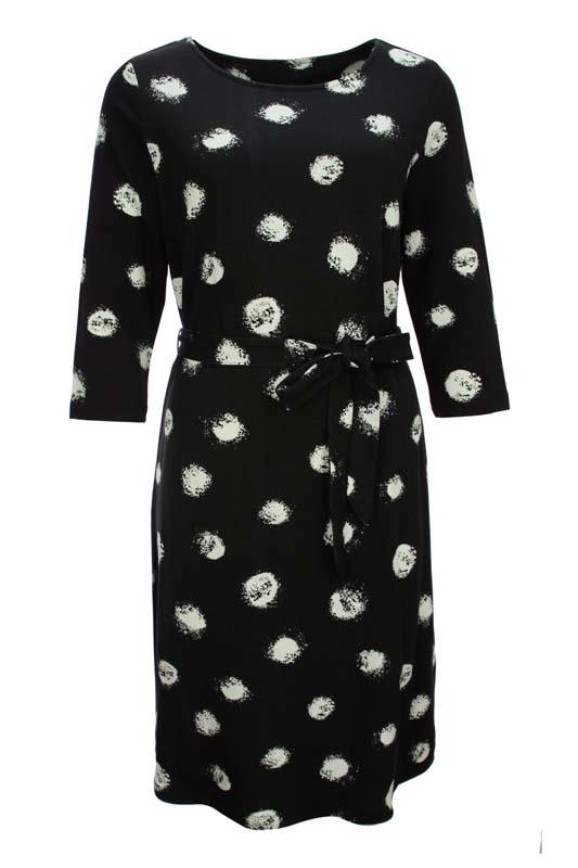 Kenny S dámské šaty černobílé  1dd2dfe336