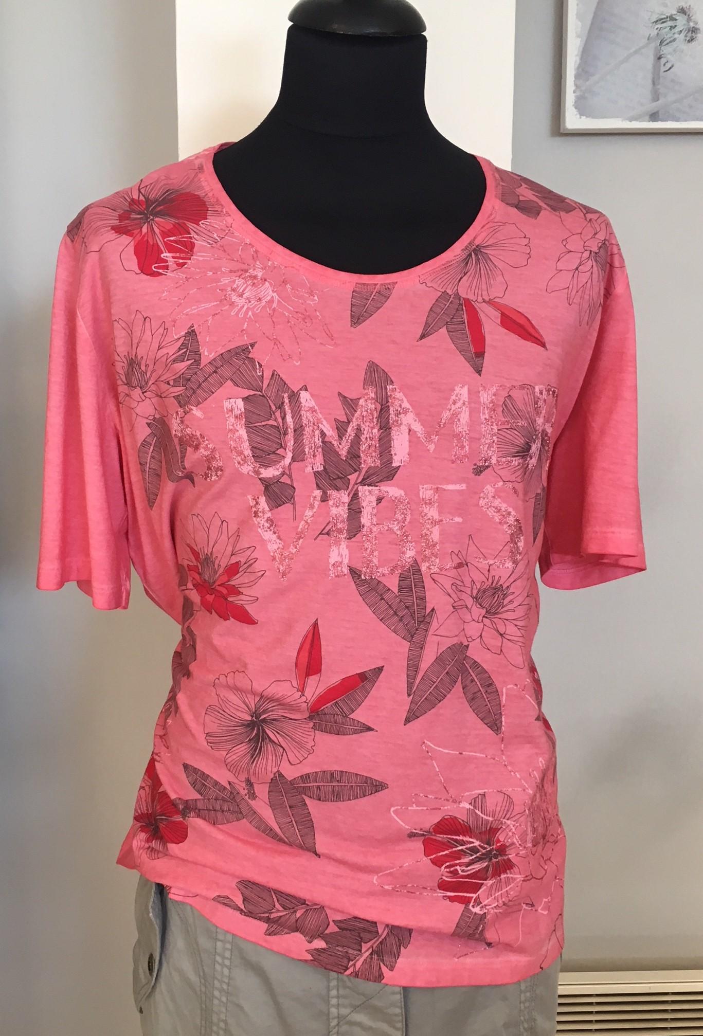 Via appia Růžové tričko 52  0ec80cea7c